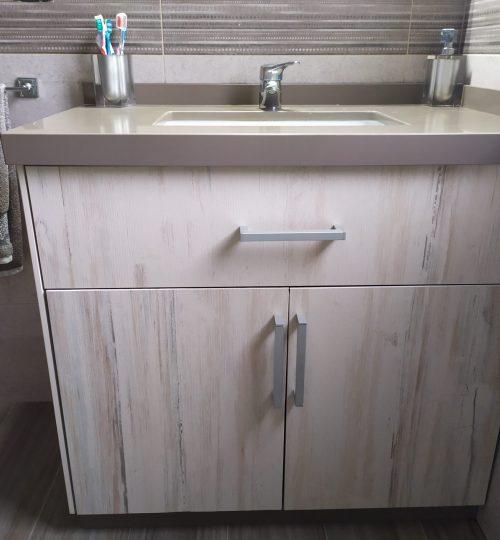 Mueble baño  de piedra trabajos