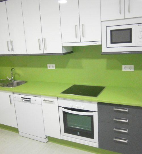 Encimera silestone verde